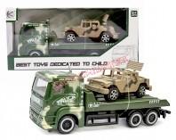 Ciężarówka - laweta wojskowa 26 cm