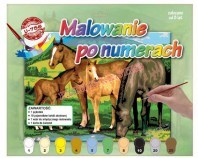 Obraz do malowania - motyw konie