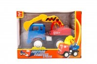 Ciężarówka - koparka 16 cm