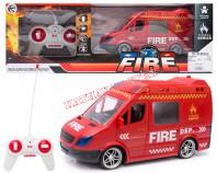 Auto straż pożarna R/C 21 cm