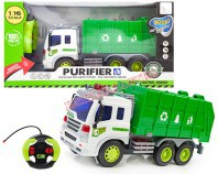Ciężarówka śmieciarka R/C 27 cm