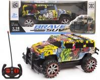 Samochód graffiti  R/C 22 cm